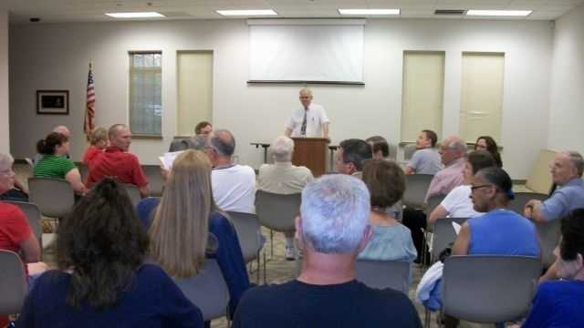 Rep. Paul Clymer faces tough crowd at town meeting