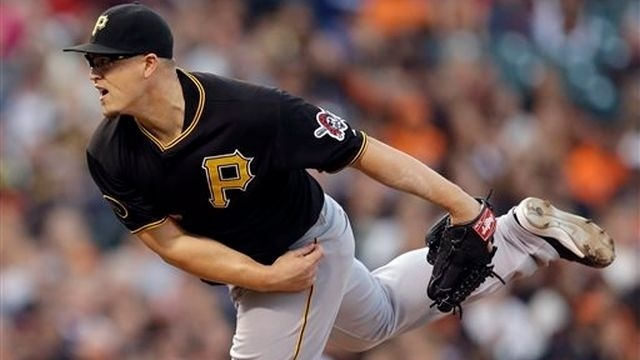 Worley tosses 4-hitter, Pirates beat Giants 5-0