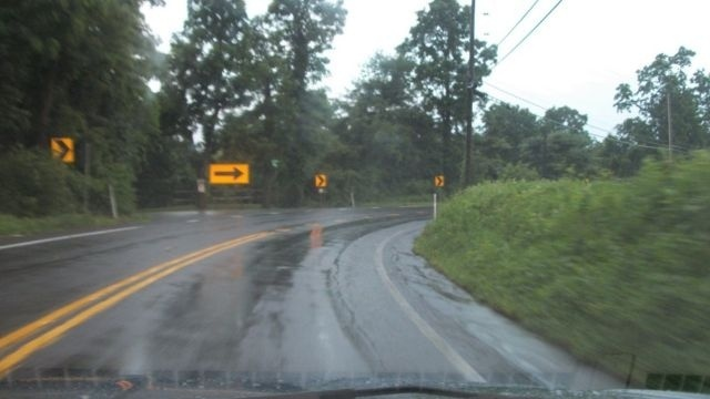 No easy fix for blind curve on Route 100 in Upper Milford