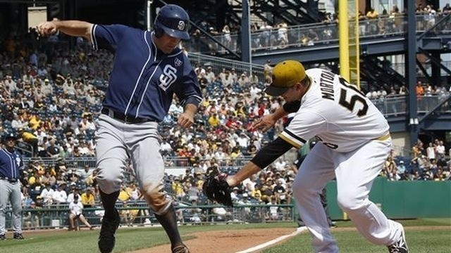 Ross solid for 6, Padres beat Pirates 8-2
