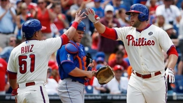 Phillies' rally falls short, lose to Mets 5-3