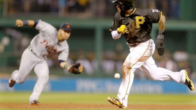 Volquez leads Pirates over reeling Tigers 4-2