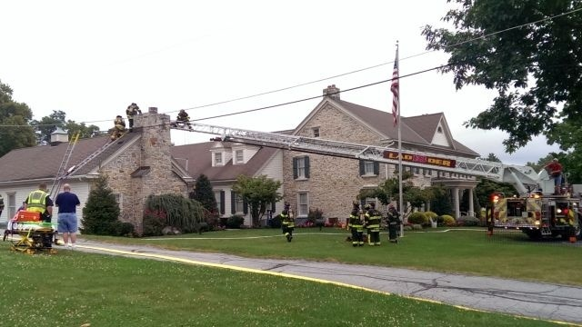 Fire damages funeral home in Sinking Spring