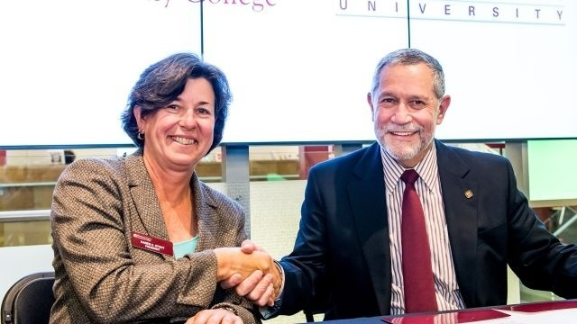Kutztown University, Montgomery County Community College sign 'reverse transfer' agreement
