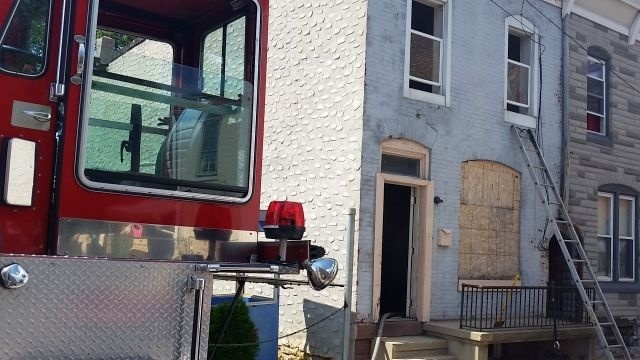 Suspicious fire damages vacant home in Reading
