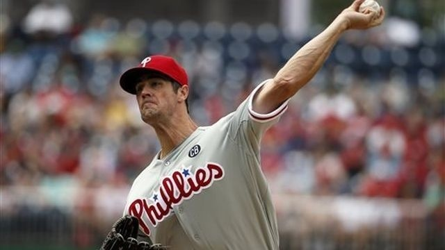 Hamels' start wasted as Phils fall 4-0 to Nats