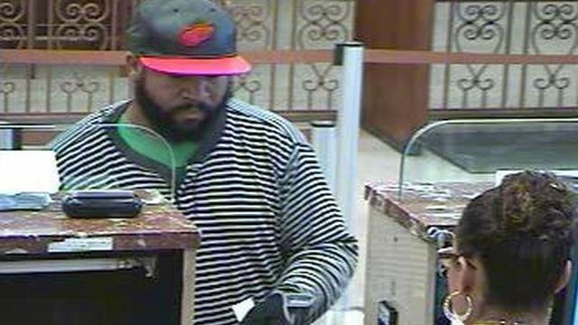 Robber implies he has weapon, gets cash from bank in Bethlehem