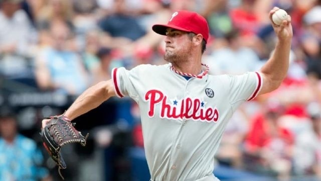 Cole Hamels, Philadelphia Phillies bullpen pitch team's first combined no-hitter
