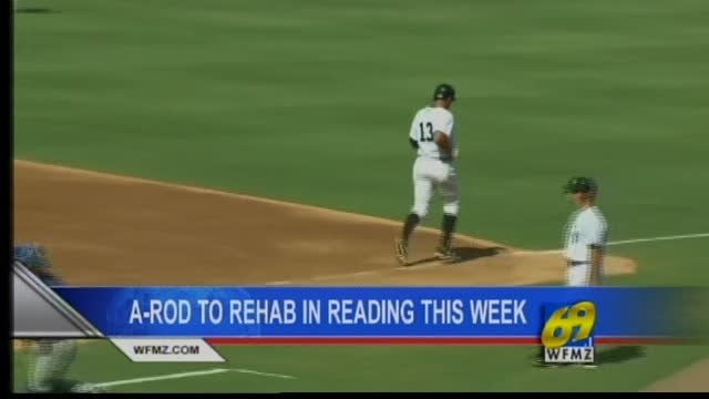 A-Rod to rehab in Reading