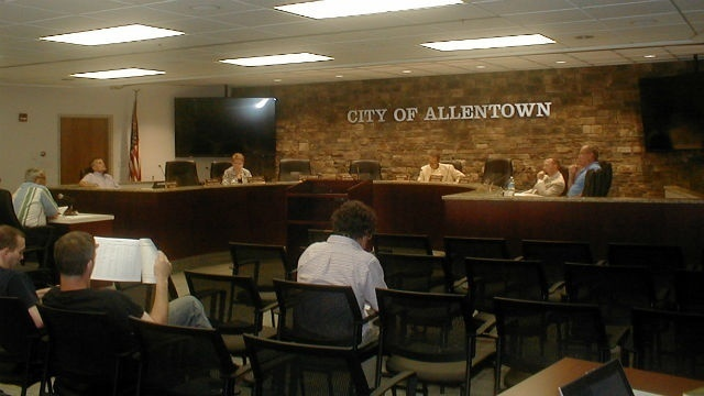 Allentown city council budget and finance committee reviews accounting practices