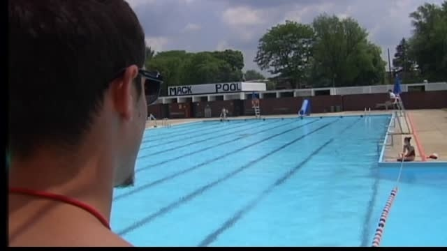 Mack is back! Pool to reopen after power failure