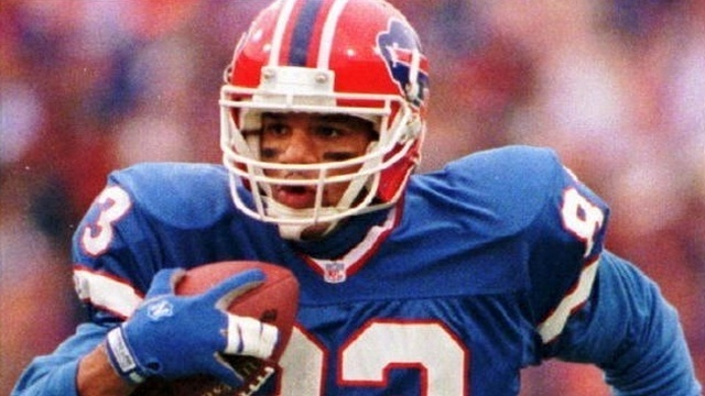 CANTON BOUND: Andre Reed finally gets call to the Hall