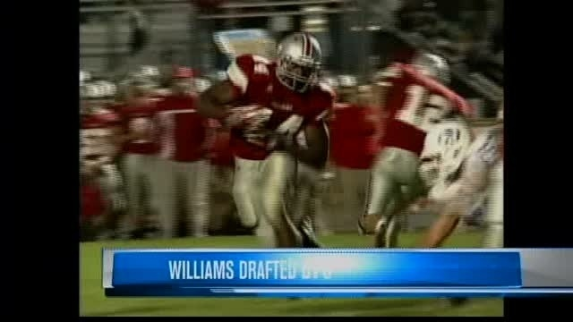 Williams drafted by Giants in 4th round; Street goes to Dallas in 5th