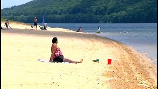 Beltzville Lake reopens for swimming