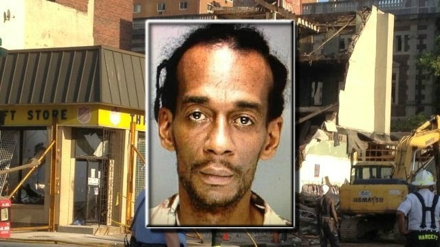 Man charged in Philadelphia building collapse has bail revised