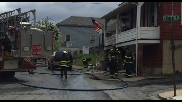 Bethlehem fire displaces residents
