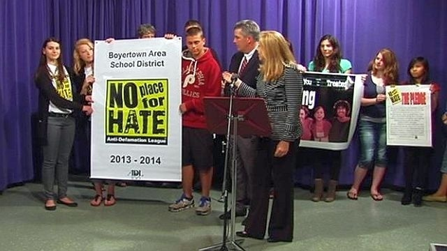 Boyertown area schools designated as 'no place for hate'
