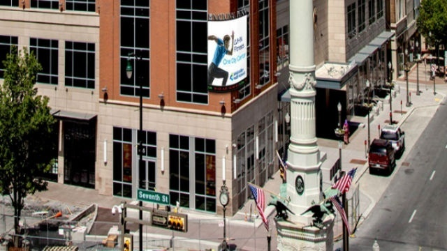 Allentown planners review new digital-video sign on downtown building