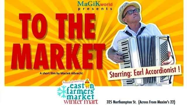 Arts Around Town: Easton's Earl the Accordionist knows how to key up the market crowds