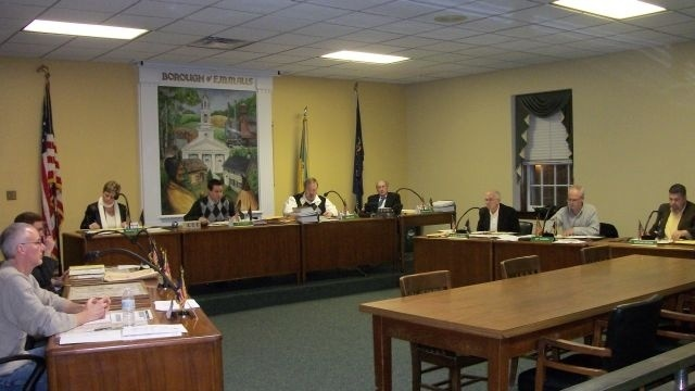 Emmaus council remembers fire victims, hears impact on emergency personnel