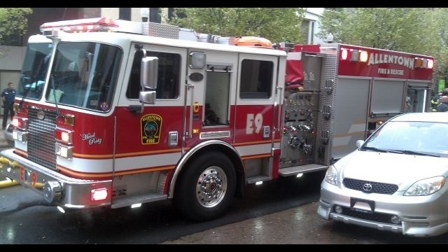 Stove fire displaces Allentown family