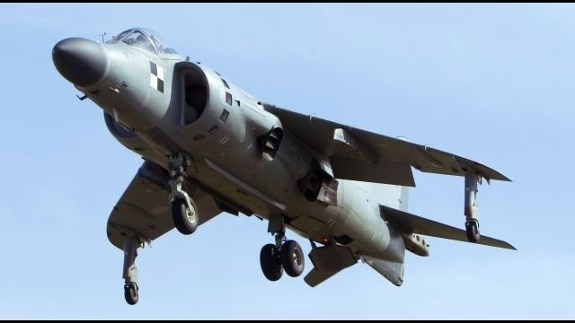 Harrier jet to be among top attractions at LV Air Show