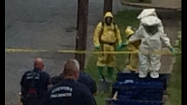 Hazmat crews called to Allentown neighborhood