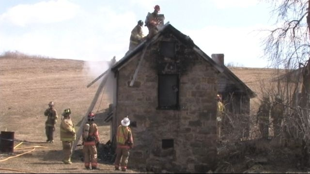 Fire damages old structure in northern Lehigh County