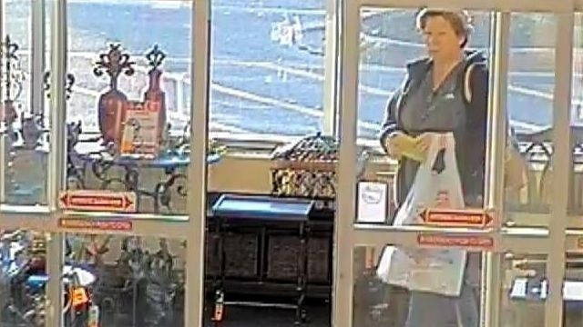 Police seek help to ID woman in theft of wallet at Hobby Lobby store