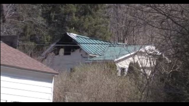 Fire rips through home in Carbon County