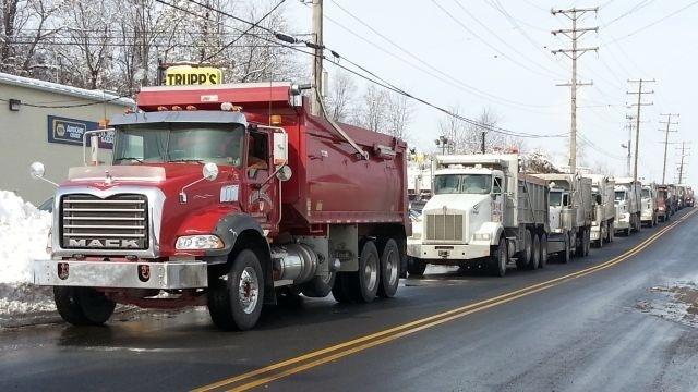 Round 2 of wintry weather prompts rush for road salt