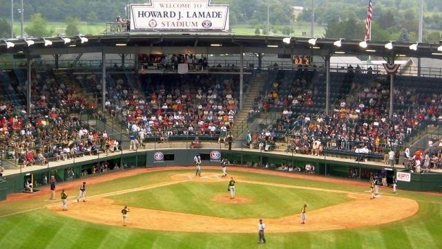 Philadelphia team wins opening round game in Little League World Series