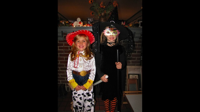 Madison & Abby in Halloween costumes_22734948
