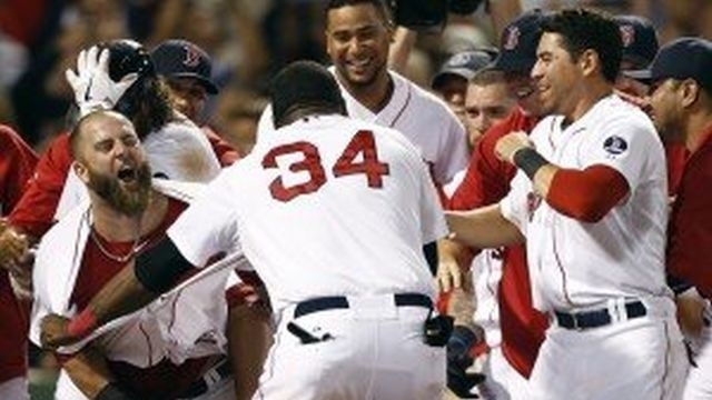 Red Sox beat Yankees in 11 with Napoli's walk-off homer