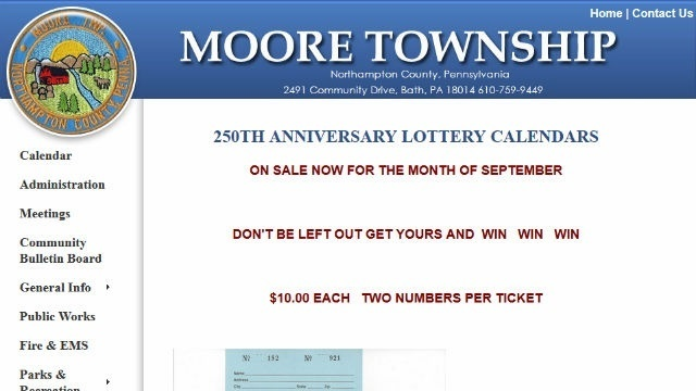 New look for Moore Township website