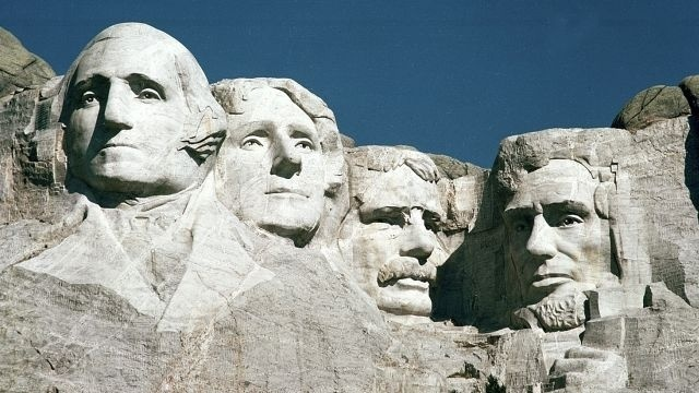 East Coast vacation ad places Mount Rushmore in ND