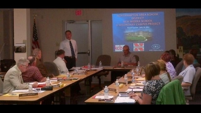 Northampton Area School District Board hears possible additions to middle school project
