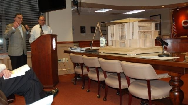 City Council gets a peek at new City Hall building in Easton