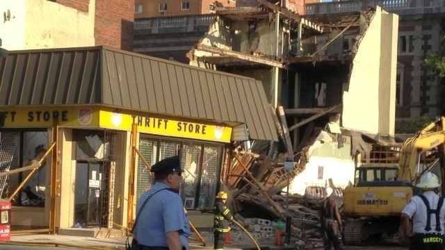 1st lawsuit filed in deadly building collapse