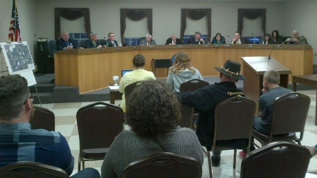 Quakertown business owner inquires about triangle development petition