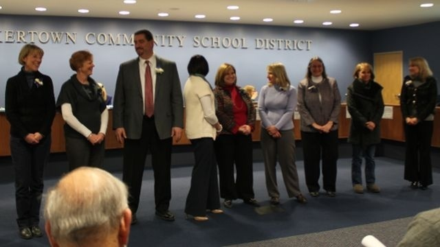 Quakertown School District gives awards and honors