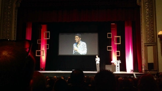 Robin Roberts inspires attendees of Chamber of Commerce dinner
