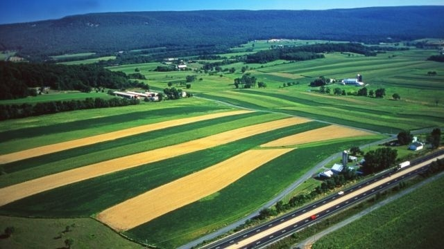 Arts Around Town: Aerial imagery of Pa.'s topography has impact for photographer Blair Seitz