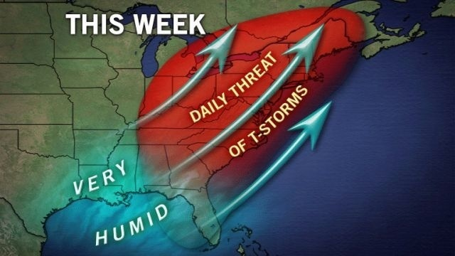 Watch in effect for severe thunderstorms around region