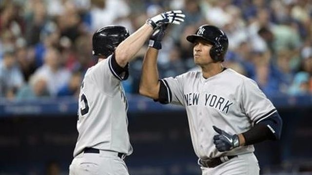 Jeter returns and A-Rod homers, but Blue Jays win