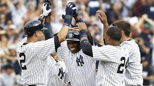 Jeter returns, Rays can't finish sweep of Yankees