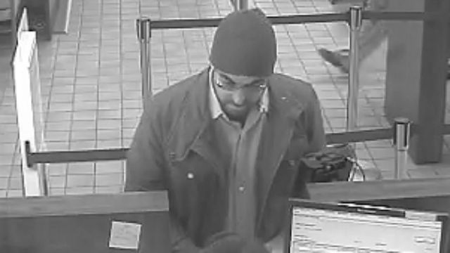 Police continue to search for bank robber