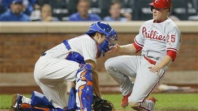 Cole Hamels, Phillies tame Mets, 6-2