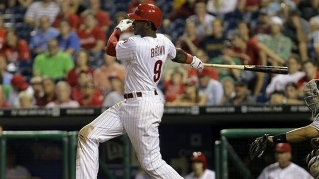 Brown lifts Phillies to 5-4 victory over Rockies