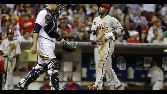 Domonic Brown's 20th homer, 4 RBIs help Phillies down Padres
